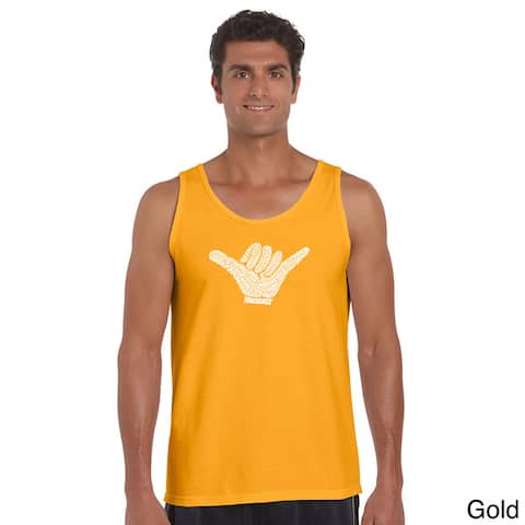 Men's Top Worldwide Surfing Spots Cotton Tank Top