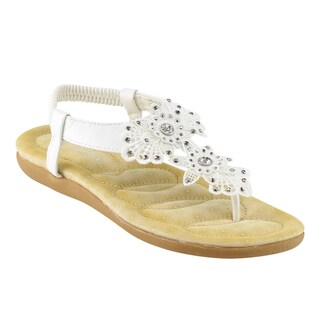 Bella Marie Nellie-2 Flat Thong Sandals