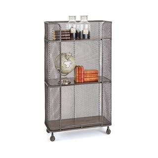 Hip Vintage Redding Silver Mobile Shelving Unit