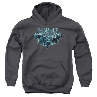 The Hobbit/Thorin and Company Youth Pull-Over Hoodie in Charcoal