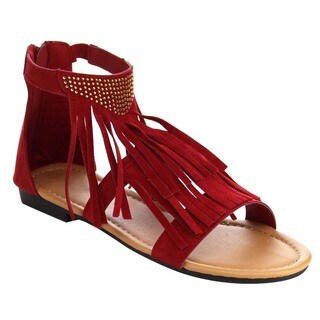 Beston Gb74 Tassels Fringe Sandals
