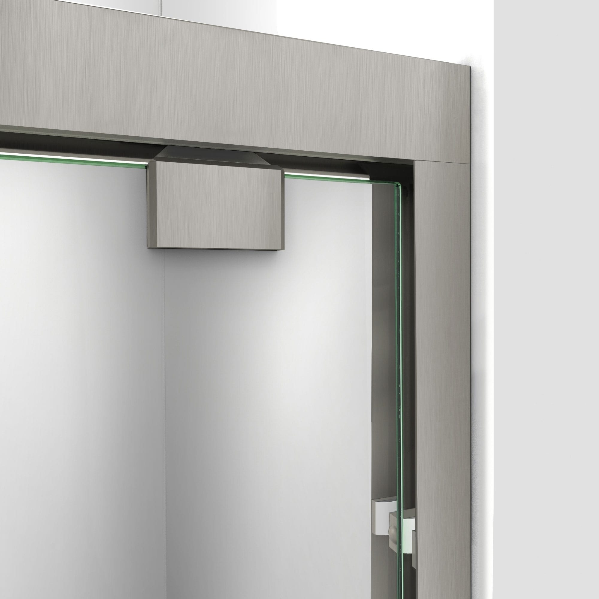 Dreamline Encore 50 54 In W X 76 In H Semi Frameless Bypass Sliding Shower Door 50 54 W