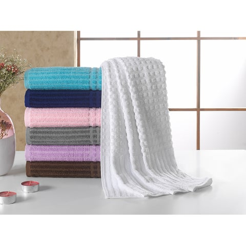 Berrnour Home Piano Collection Turkish Cotton Luxury Bath Towel