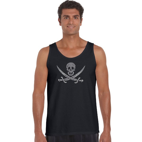 Mens Legendary Pirate Song Tank Top