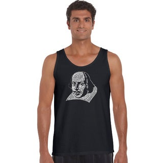 Men's The Titles of All of William Shakespeare's Comedies and Tragedies Tank Top