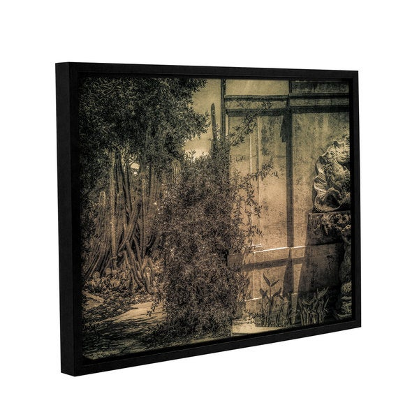 Richard James's 'Bramble Pass' Gallery Wrapped Floater-framed Canvas