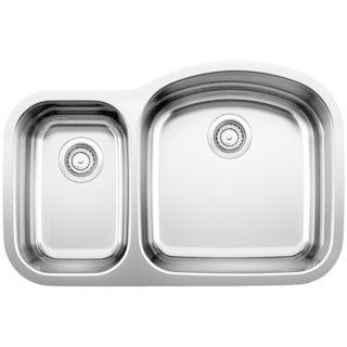 Blanco Wave Stainless Steel Reverse Bowl Kitchen Sink