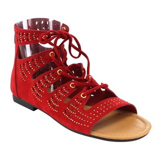 Beston Gb86 Flat Gladiator Sandals