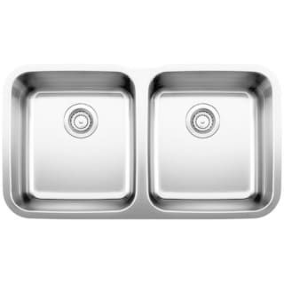 Blanco Stellar Stainless Steel Equal Double Bowl Sink