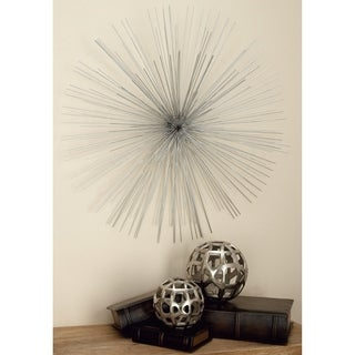 Elite Metal Silver Wire Wall Decor