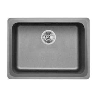 Blanco Vision Anthracite Granite Medium-size Single-bowl Undermount Sink