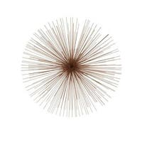 Exclusive Metal Copper Wire Wall Decor