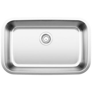 Blanco Stellar ADA Stainless Steel 18-inch x 28-inch x 5.5-inch Undermount Kitchen Sink