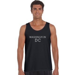 Men's Cotton Washington DC Neighborhoods Tank Top -