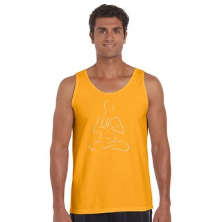 Men's Popular Yoga Poses Cotton Tank Top