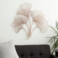 Scintillating Metal Wall Decor