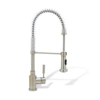 Blanco Kitchen Faucets Meridian Semi-pro Satin Nickel Brass Faucet