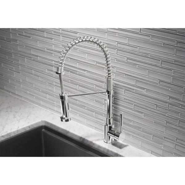 Blanco Meridian Semi-pro Chrome Kitchen Faucet