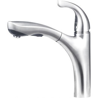 Blanco Hiland Stainless Steel-finished Solid Brass Single-handle Pull-out Faucet