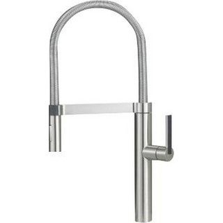 Blanco Culina Satin Nickel Brass Mini Pull Down Faucet