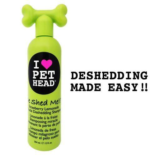 Pet Head Deshed Me Miracle Deshedding Dog Shampoo Strawbe...