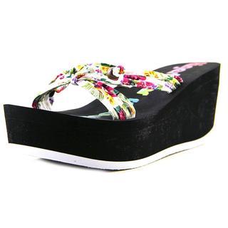 Tigerbear Republik Women's 'Jumbolicious' Basic Textile Sandals