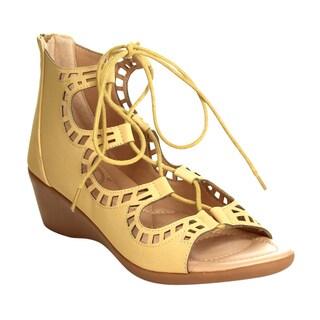 Bolaro Dw6094 Strappy Wedge Sandals