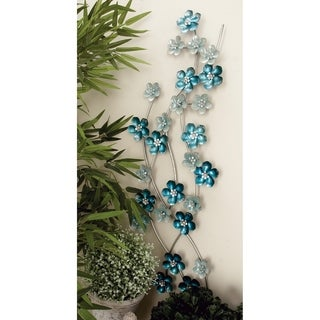 Fascinating Flower Metal Wall Decor