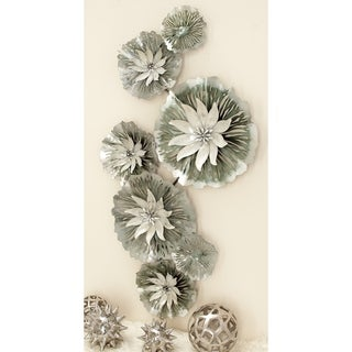 Well-Made Metal Wall Decor Lily Pad