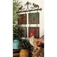 Studio 350 Metal Wall Decor 40 inches high, 23 inches wide