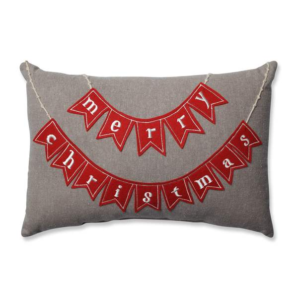 Shop Pillow Perfect Country Home Merry Christmas Red