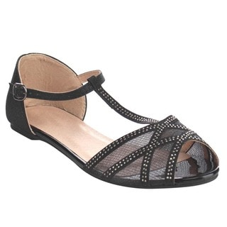 Beston Gb81 T-strap Sandals