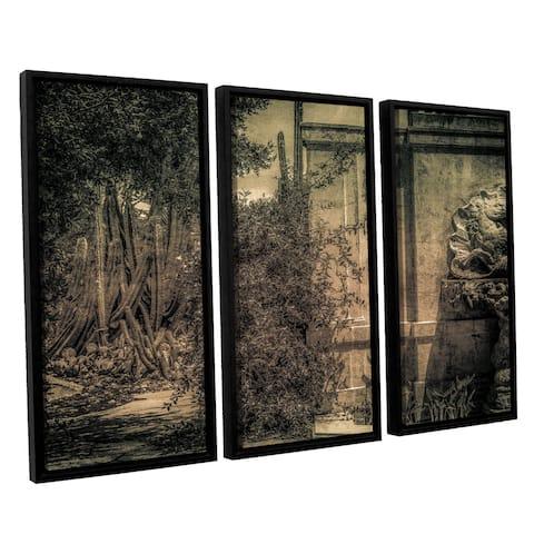 Richard James's 'Bramble Pass' 3-piece Floater Framed Canvas Set