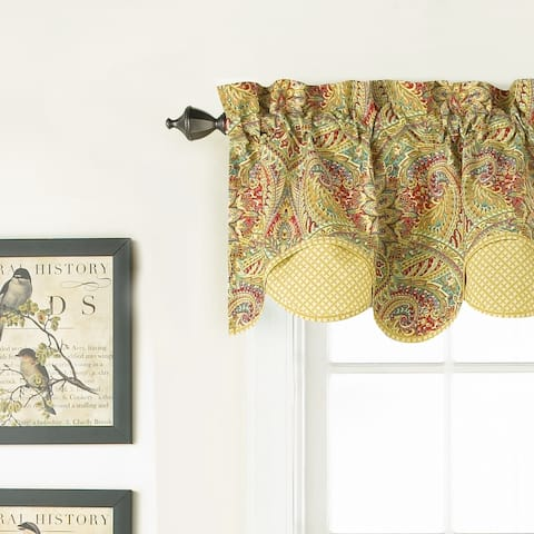 Waverly Swept Away Window Valance - 60x18