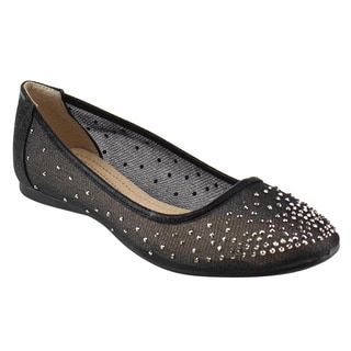 Beston Women's Mesh Flats