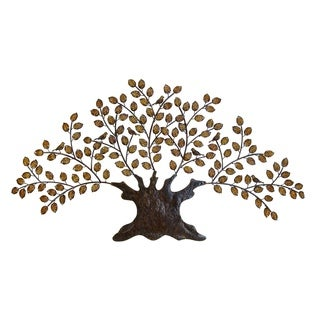 Metal Decor Tree 75 inches wide x 41 inches high Wall Decor