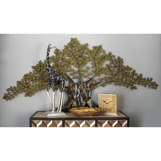 Studio 350 Metal Tree Wall Decor 93 inches wide, 41 inches high
