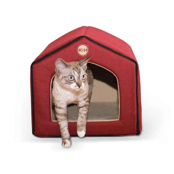 Shop K H Pet Products Unheated Indoor Cat House Free Shipping On
