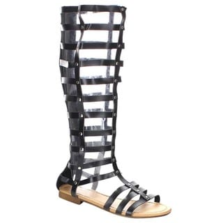 Beston Gb34 Caged Gladiator Sandals