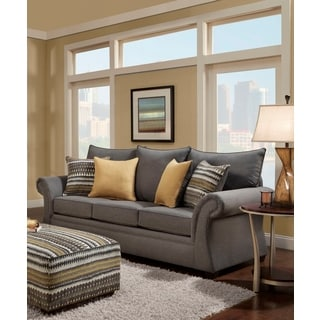 Sofa Trendz Blair Grey Microfiber Sofa