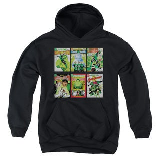 Youth Green Lantern/Gl Covers Black Pullover Hoodie
