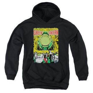 Green Lantern/Cover Number 200 Black Youth Pullover Hoodie