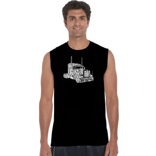 Men's Sleeveless 'Keep On Truckin' T-shirt
