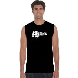 Men's Cotton Sleeveless NY Subway T-shirt