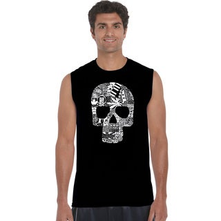 Men's Sex, Drugs, Rock and Roll Sleeveless T-shirt