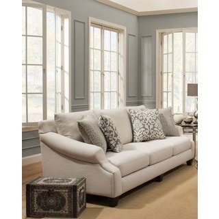 Sofa Trendz Kelly Beige Cotton/ Polyester Blend Sofa