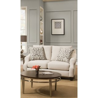 Nely Granite Polyester Loveseat Free Shipping Today