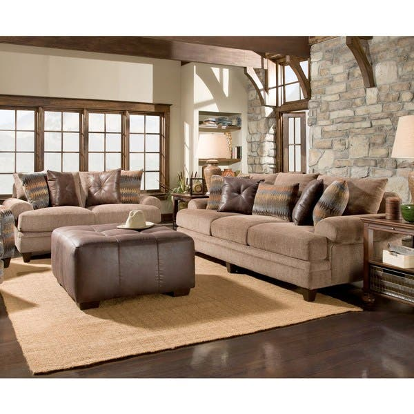 Amazing Shop Sofa Trendz Allison Two Piece Sofa And Loveseat Set Andrewgaddart Wooden Chair Designs For Living Room Andrewgaddartcom