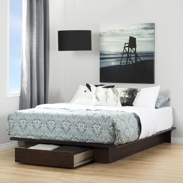 Shop South Shore Holland Platform Bed With Drawer Free
