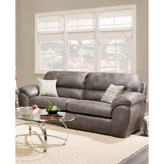 SOFA TRENDZ Albert Grey Microfiber Sleeper Sofa